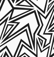 tribal monochrome seamless pattern vector image