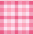 valentines day tartan plaid pattern scottish cage vector image vector image