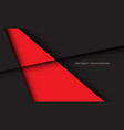 abstract red grey shadow line background vector image vector image
