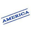America Watermark Stamp vector image vector image