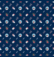 cute christmas seamless pattern with snow globe vector image