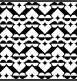 geometric heart pattern decorative abstract vector image