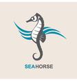 sea horse image vector image vector image
