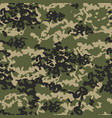 texture military camo repeats army green hunting vector image vector image