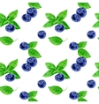 seamless pattern with berries vector image