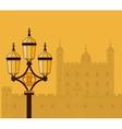 London United Kingdom flat icons design travel vector image