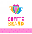 Coffee logo set vector image vector image