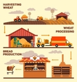 Factory and the production of vector image