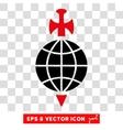 Global Guard Eps Icon vector image vector image