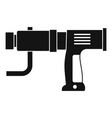 hand drill icon simple vector image vector image