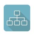 Scheme square icon vector image vector image