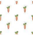 seamless pattern with red currant vector image vector image