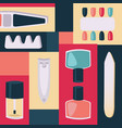 tools for manicure vector image