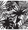 tropic in black and white colors vector image vector image