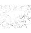 world map china far east china tibet