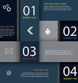 Modern Design template education template vector image