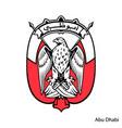coat arms abu dhabi is a united arab