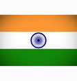 National flag of India vector image vector image