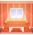 Room with window vector image