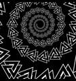 valknut pattern vector image