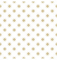 golden floral seamless pattern luxury abstract vector image vector image