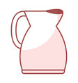 Kitchen kettle isolated icon