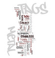 metal tags text background word cloud concept vector image vector image