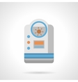 Room humidifier flat color icon vector image vector image