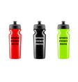 sports energy drink in the vector image vector image
