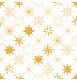 Christmas star seamless pattern