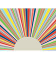 Colorful Rays Background vector image vector image