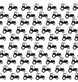Ftat Tractor Seamless Pattern Background vector image vector image