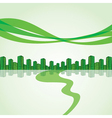 green city escape stock vector image vector image