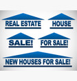 icons with text for real estate concepts - for vector image