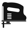 pneumatic gun icon simple vector image vector image