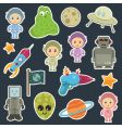 Space stickers vector | Price: 3 Credits (USD $3)