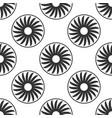 ventilation sign icon ventilator symbol icon vector image