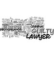 a criminal defense lawyer can help you defend vector image vector image