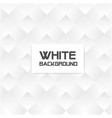 abstract square white background image vector image vector image