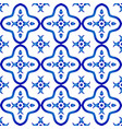 ceramic tile pattern vector image vector image
