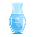 Empty Vase vector image vector image