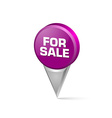 For sale pointer vector image vector image
