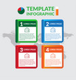 infographic design stock infographic template vector image