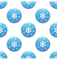 Snowflakes sign pattern vector image