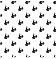 Bull terrier dog pattern simple style vector image vector image