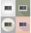 business and finance flat icons 15 vector image vector image