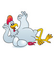 Funny cock vector image