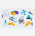 math lab and school class science education vector image vector image