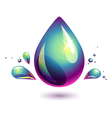 Petroleum drop vector image vector image