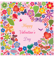 Valentines day invitations design vector image vector image